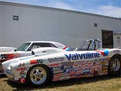 Dan Fletcher's borrowed Corvette