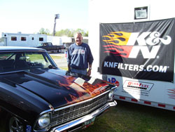 Champion drag racer Steve Dillman has been racing since he was 17 years old