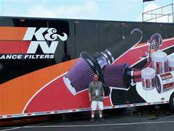 K&N Contest Winner Dirk Levens