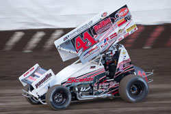Racer Dominic Scelzi plans to complete this year in the 360 Sprint Car, and hopefully move up into the 410 Sprint Car class for much of next year.