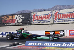 Gatlin won the SCEDA Electronics championship and the Famoso Super Pro championship in Bakersfield last year.