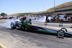 Gatlin's Undercover Dragster has been the one to beat for the last two years at Famoso.