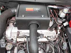 K&N Engineeering's 63-3056 air intake system