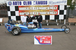 Winning the 52nd March Meet was almost as good as winning the NHRA Hot Rod Heritage Series for Davenport
