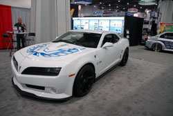 SEMA featured 2010 Chevy Camaro with Z/TA Firebird conversion kit