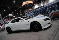 The Pontiac Trans Am legacy lives on through Projxauto's Z/TA package, their Firebird conversion for the 5th Gen Camaro.