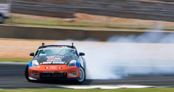 Chris Forsberg currently sits 5th place in the fight for the Formula Drift Championship
