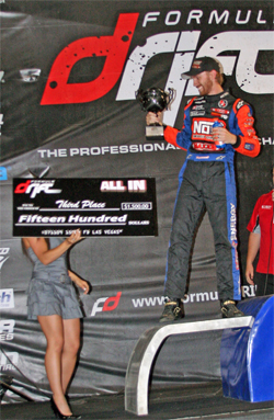 Chris Forsberg moved to first position overall in his the chase for the Formula Drift Pro Championship