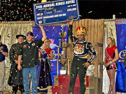 Donny Schatz wins Kings Royal during Month of Money