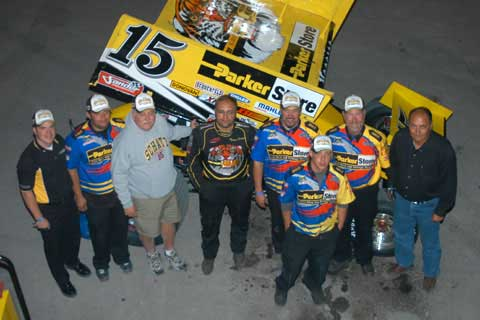Donny Schatz and the ParkerStore Team