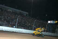 Schatz at the Dirt Track