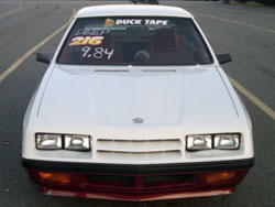 Duck Tape Racings' 1985 Plymouth Turismo