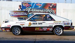 Beard found Victory Lane for the first time in 2011 at the Farmington Race of Champions