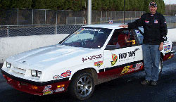 Duck Tape Racing's Michael Beard and his Plymouth Turismo