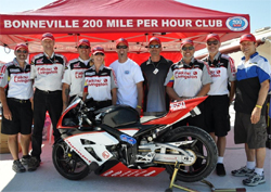 Five new World Speed Records were set by FL Racing during Speed Week as one rider was inducted into Bonneville 200 mph club