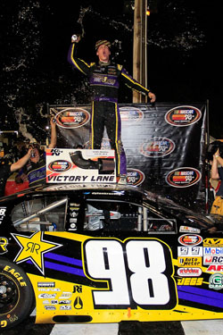 This marks the third NASCAR K&N Pro Series East win of the season for Dylan Kwasniewski