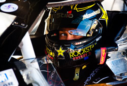 Kwasniewski finished fourth in his K&N Pro Series West debut at All American Speedway