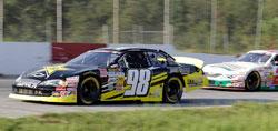 Dylan Kwasniewski leads the NASCAR K&N Pro Series East standings by 40 points over Brett Moffitt.