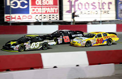 Dylan Kwasniewski has enjoyed success on the short tracks on the NASCAR K&N Pro West Series.