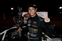 Dylan Kwasniewski wins second K&N Pro Series West race in a row at Montana Raceway Park