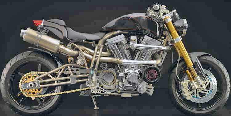Limited Titanium Series Motorcycle Equipped with K&N XStream Top ...