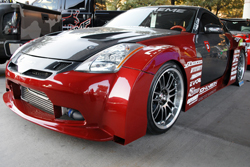 Extreme Auto Concepts' wildly modified Nissan 350Z at SEMA