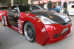 "SEMA Featured 2005 Nissan ""1WIDEZ"" 350z"
