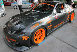 "SEMA Feature Vehicle 2004 Nissan 350z called ""Felony Z"""