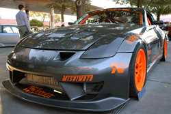 Highly customized 2004 Nissan 350z at the 2011 SEMA Show.