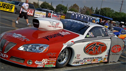 Mike Edwards captured his first National Hot Rod Association Full Throttle Pro Stock World Championship title at the Automobile Club of Southern California NHRA Finals