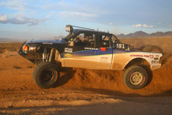 In 2011 it was Ernie Serfas getting the win at the Ball Out 250 in Barstow, driving the 1491 Trophy Truck.