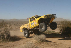 The 302 powered four-link Ford Ranger number 1449 is piloted by Shawn Walters and Justin Rhynes.