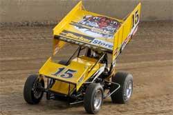 Donny Schatz at Eldora Speedway