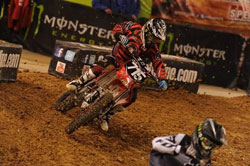 After missing a full season of AMA Supercross, Phil Nicoletti made a strong showing in the Supercross East Coast Lites season opening round.