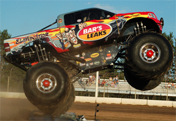 Monster Truck driver Greg Adams and Eliminator will be back in 2010