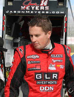 Jason Meyers is currently second in points heading into his next event in Texas, just behind leader Donny Schatz as he chases his first World of Outlaws Championship title.