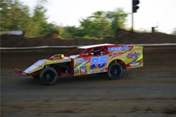The number 75 had its best finish of the series by posting an eighth place at Ponderosa Speedway in Junction City, Kentucky.
