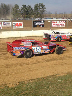 Following a shaky start to 2014 Elliot scored his first victory of the season at Ponderosa Speedway