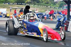 Dave Elrod points out that the new K&N 2nd Gen Dragster Scoops helped their cars gain ET and MPH, including his Top Dragster.