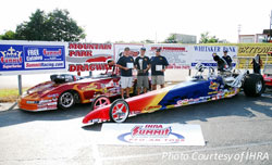 Three finals in two days for K&N's Team Elrod Racing, (left to right) Tony, Jacob and Dave.