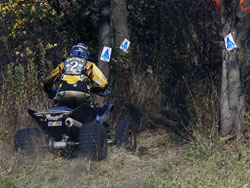 This is the view most competitors have had of Epic Racing's Bryan Hulsey in 2011.