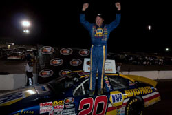 Eric Holmes wins NASCAR K&N Pro Series West at Spokane County Raceway in Washington