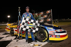 Eric Holmes wins NASCAR K&N Pro Series West race at Montana Raceway Park