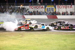 NASCAR K&N Pro Series West race at All American Speedway in Roseville, California