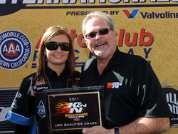 NHRA Pro Stock Driver Erica Enders