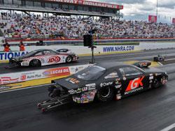 Erica Enders NHRA Pro Stock GK Motorsports/KLR Group Chevy Cobalt
