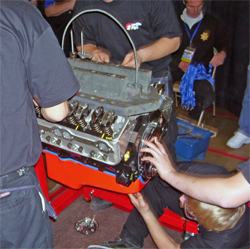 Race and Performance Expo hosts Hot Rodders of Tomorrow Engine Challenge Championship