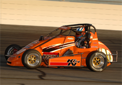 Nic Faas of Western Speed Racing drove a Western Speed Racing K&N Filters Toyota on Turkey Night