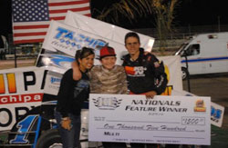 The big $1500 pay check was all the incentive Mike Faccinto needed to earn his first win of the season.