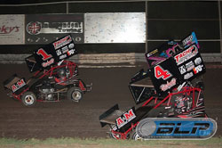 Brothers Michael and Mitchell Faccinto are both enjoying career seasons in 600 Micro Sprints on the West Coast.